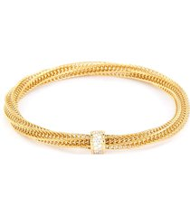 'primavera' diamond 18k yellow gold bracelet