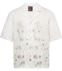 hilmer reg shirt overhemd met korte mouwen wit oscar jacobson