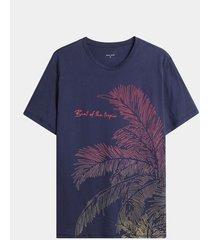 camiseta palmera degrade