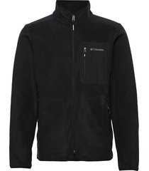 exploration™ fz fleece sweat-shirt tröja svart columbia