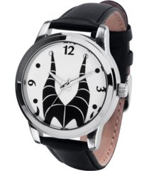 disney villains maleficent women's silver alloy watch 38mm
