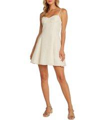 women's willow hampton sleeveless dress, size medium - ivory