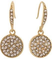 laundry by shelli segal pave stones drop earring