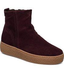 ankle boots shoes boots ankle boots ankle boots flat heel röd gabor