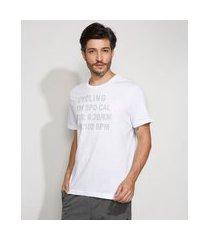 "camiseta masculina manga curta esportiva ace cycling"" metalizada gola careca branca"""