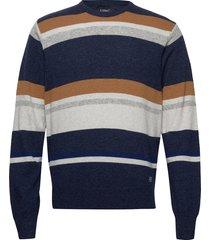 knit gebreide trui met ronde kraag multi/patroon signal