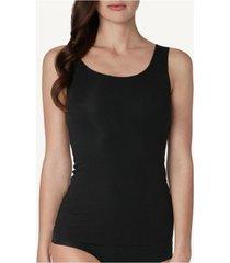 blusa de algodã£o supimaâ® decote redondo corte vivo intimissimi algodã£o supima preto - preto - feminino - dafiti