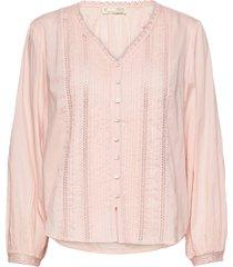 rachelle blouse blouse lange mouwen roze odd molly