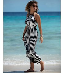 beach hut maxi dress