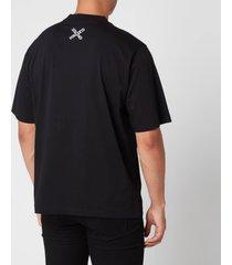 kenzo men's sport oversized t-shirt - black - m