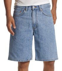"levi's men's 550 relaxed fit denim 10"" shorts"