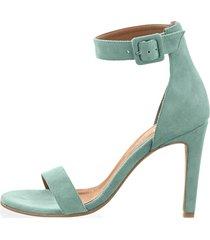 sandaletter alba moda salviagrön