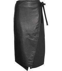 2nd murphy knälång kjol svart 2ndday