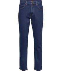 brooklyn straight jeans comfort fit blå lee jeans