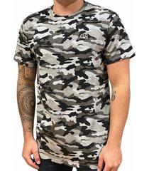 camiseta clean camo gris fist hombre