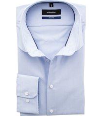 seidensticker lichtblauw overhemd tailored