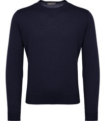 john smedley midnight lundy sweater lundy-mid