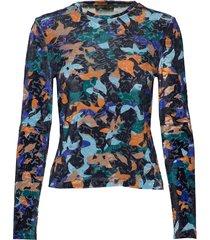 maya, 859 velvet devore t-shirts & tops long-sleeved multi/patroon stine goya