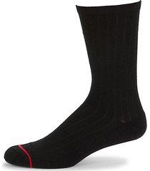 classic ribbed crew socks