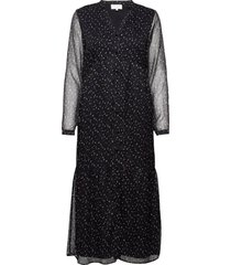 deka dress jurk knielengte zwart minus