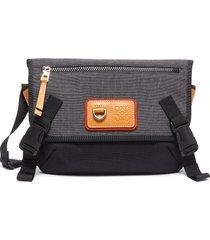 eye/loewe/nature colourblock messenger bag