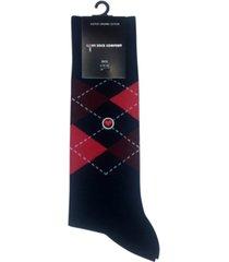 love sock company men's casual socks - argyle