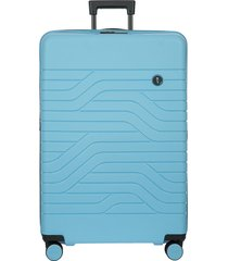 bric's by ulisse 31-inch expandable spinner suitcase - white
