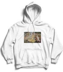 bluza hoodie art for sale biała