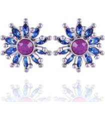 nanette nanette lepore extra celestial starburst button earrings