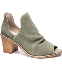 chinese laundry carlita open toe booties women's shoes