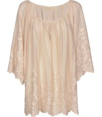 mes demoiselles loose embroidered dress