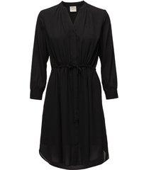 slfdamina 7/8 dress b noos korte jurk zwart selected femme