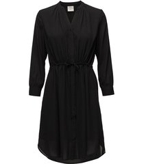 slfdamina 7/8 dress noos korte jurk zwart selected femme