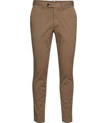 danwick trousers chinos byxor brun oscar jacobson