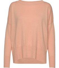 ladies knit sweater, villis gebreide trui roze nanso