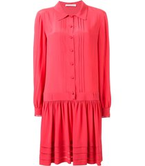 philosophy di lorenzo serafini loose fit shirt dress - pink