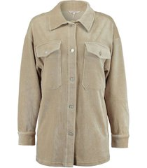 blouse oversized beige