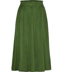 slvivianne skirt knälång kjol grön soaked in luxury