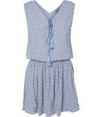 vero moda kort blauw jurkje