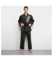 kimono jiu jitsu keiko camuflado
