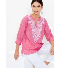 blouse van lyocell