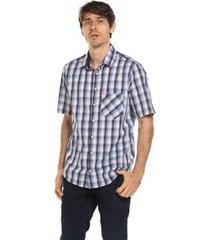 camisa true you brasil manga curta xad blue gem - masculino