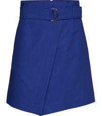cancun kort kjol blå max&co.