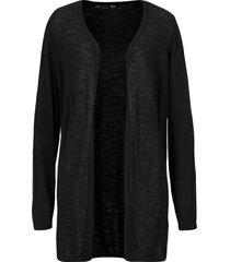 cardigan leggero in cotone con spacchi (nero) - bpc bonprix collection