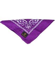 bandana rich young roxa - tricae
