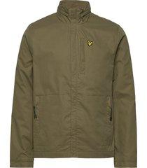 lightweight funnel neck jacket dun jack groen lyle & scott