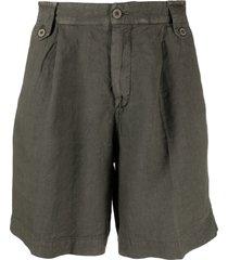 costumein straight-leg chino shorts - green