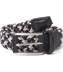 anderson belt's woven belt | multi pink & grey |b0667 ne41