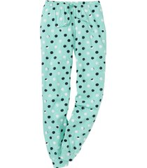 pantaloni pigiama (verde) - bpc bonprix collection