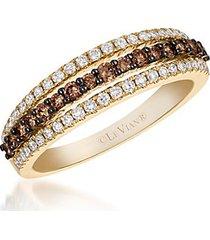 le vian chocolatier® diamond & 14k honey gold ring